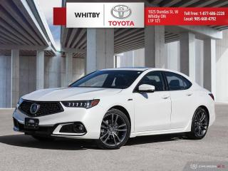 Used 2019 Acura TLX Tech A-Spec for sale in Whitby, ON