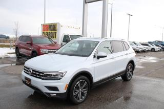 Used 2018 Volkswagen Tiguan 2.0T Highline 4MOTION for sale in Whitby, ON