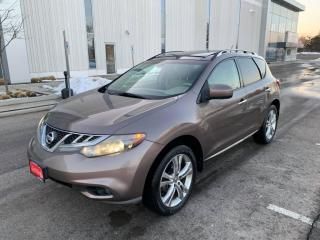 Used 2011 Nissan Murano AWD 4DR for sale in Mississauga, ON