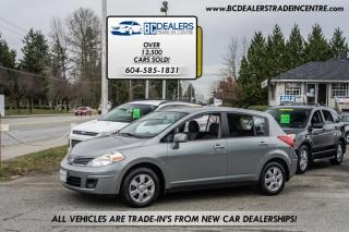 Used 2007 Nissan Versa 5-Door Hatchback, Local Car, Rare 6-Speed Manual!! for sale in Surrey, BC