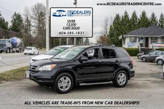 Used 2011 Honda CR-V 4WD EX-L, Leather, Sunroof, Heated Seats, New Bodystyle! for sale in Surrey, BC