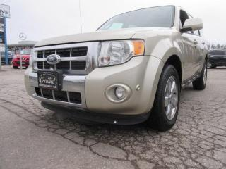 Used 2011 Ford Escape 4wD  V6  Limited for sale in Newmarket, ON