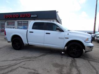 Used 2016 RAM 1500 Outdoorsman Crew Cab 4WD Diesel Camera Certified for sale in Milton, ON