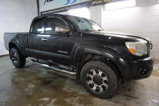 Used 2011 Toyota Tacoma SR5 4x4 NAVI CAMERA CERTIFIED 2YR WARRANTY BLUETOOTH CRUISE TOW HITCH for sale in Milton, ON