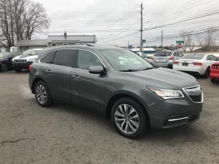 Used 2016 Acura MDX AWD w/Tech Package, NAV, 7 Passenger, Great Shape!! for sale in Truro, NS