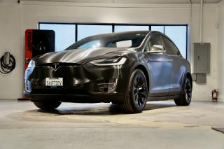 Used 2017 Tesla Model X 60D ENHANCED AP, 6 SEATER, BRUSHED BLACK WRAP for sale in Oakville, ON