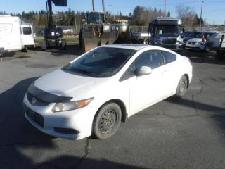 Used 2012 Honda Civic LX Coupe 5-Speed MT for sale in Burnaby, BC