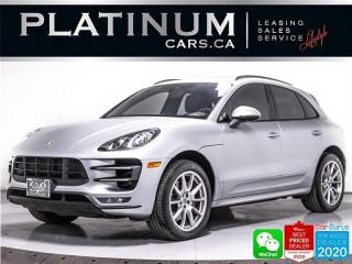 Used 2015 Porsche Macan Turbo, AWD, NAV, PREMIUM PLUS, HEATED/VENTED, CAM for sale in Toronto, ON