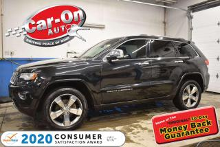Used 2014 Jeep Grand Cherokee Overland for sale in Ottawa, ON