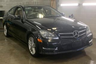 Used 2014 Mercedes-Benz C-Class COUPE CUIR TOIT for sale in St-Hubert, QC