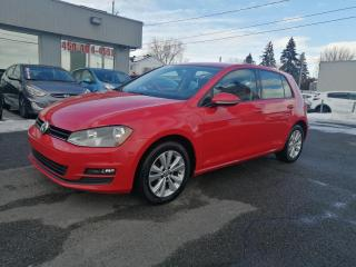 Used 2017 Volkswagen Golf Comfortline**CUIR **CAMERA DE RECULE **BANC CHAUFF for sale in Mcmasterville, QC