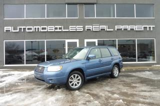 Used 2007 Subaru Forester 2.5 AWD - TOIT PANO - AUTO - SIEGES CHAUFFANT - for sale in Québec, QC