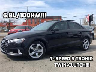 Used 2017 Audi A3 Komfort 2.0T FrontTrak berline 4 portes for sale in Trois-Rivières, QC