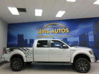Used 2013 Ford F-150 FX4 SUPERCREW CAB BOITE 6½ TOUT EQUIPE V for sale in Lévis, QC