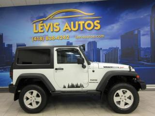 Used 2012 Jeep Wrangler SPORT 88400KM AUTOMATIQUE AIR CLIMATISE for sale in Lévis, QC