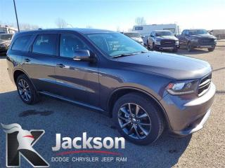 Used 2018 Dodge Durango GT - 8.4 Touchscreen, Nav and Blu ray for sale in Medicine Hat, AB