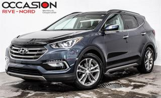 Used 2017 Hyundai Santa Fe Sport Limited 2.0T AWD NAVI+CUIR+TOIT.OUVRANT for sale in Boisbriand, QC
