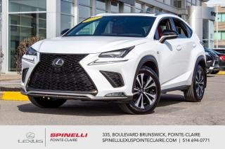 Used 2018 Lexus NX **F SPORT SERIES 2 AWD** *APPLE CAR PLAY*CUIR ROUGE*GPS*SYSTEME LSS+*ANGLE MORT*VOLANT CHAUFFANT*CAMERA DE RECUL*TOIT* for sale in Montréal, QC