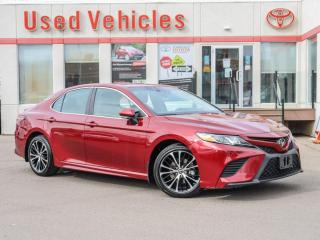 Used 2018 Toyota Camry SE HEAT-SEATS REV-CAMERA ALLOYS LOW-KMS for sale in North York, ON