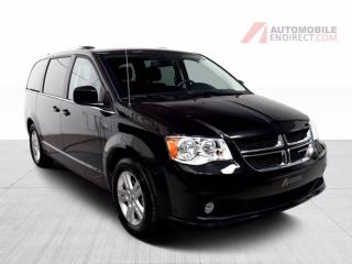 Used 2020 Dodge Grand Caravan Crew Plus Cuir GPS Stow N'Go DVD A/C Mags for sale in Île-Perrot, QC