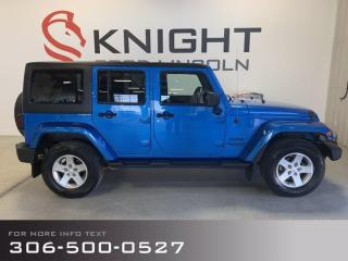 Used 2014 Jeep Wrangler Unlimited Sport, Awesome Jeep, Good Condition, Summer Fun! for sale in Moose Jaw, SK