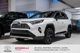Used 2020 Toyota RAV4 Hybrid Hybrid XSE XSE! RARE! DEUX TONS! for sale in Lachine, QC