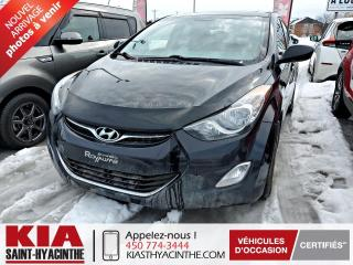 Used 2013 Hyundai Elantra GLS * TOIT OUVRANT / SIÈGES CHAUFFANTS for sale in St-Hyacinthe, QC