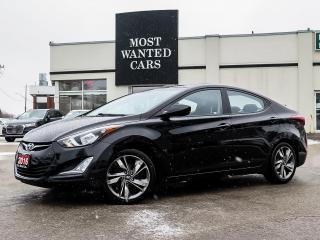 Used 2016 Hyundai Elantra GLS|SUNROOF|CAMERA|ALLOYS|FOG LIGHTS|REAR HEATED SEATS for sale in Kitchener, ON