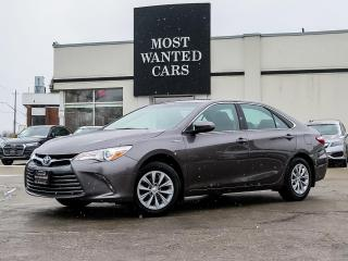 Used 2017 Toyota Camry HYBRID LE|CAMERA|TOUCHSCREEN|AUTO/DUAL ZONE AIR|PUSH BUTTON START for sale in Kitchener, ON