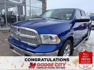 Used 2016 RAM 1500 Laramie | 4x4 | Crew Cab | 5.7 Box for sale in Saskatoon, SK
