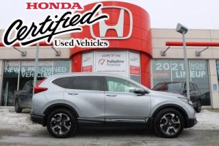 Used 2019 Honda CR-V Touring - HONDA CERTIFIED RATES STARTING @ 3.69% OAC - for sale in Sudbury, ON