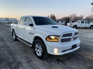 Used 2017 RAM 1500 Sport,Navigation for sale in Ridgetown, ON