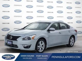 Used 2013 Nissan Altima 2.5 SL - Sunroof -  Leather Seats - $96 B/W for sale in Port Elgin, ON