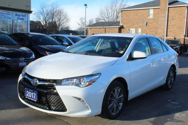 2017 Toyota Camry SE Leather Heated Seats