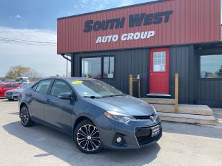 Used 2016 Toyota Corolla S|Htd Lthr Seats|Sunroof|BackUp|Bluetooth for sale in London, ON
