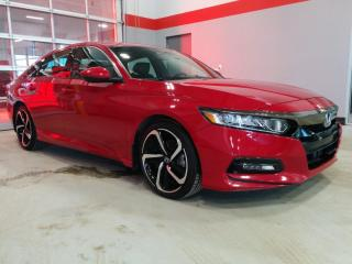 Used 2018 Honda Accord Sedan Sport for sale in Red Deer, AB