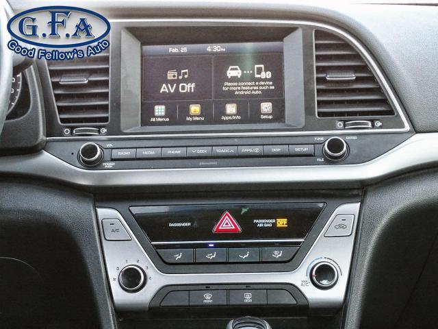 2017 Hyundai Elantra GL MODEL, BLIND SPOT ASSIST, REARVIEW CAMERA