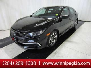 Used 2020 Honda Civic Sedan EX *Collision Free!* for sale in Winnipeg, MB