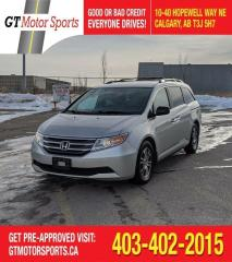 Used 2013 Honda Odyssey EX| $0 DOWN - EVERYONE APPROVED! for sale in Calgary, AB