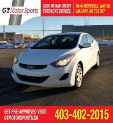 Used 2013 Hyundai Elantra GL | $0 DOWN - EVERYONE APPROVED! for sale in Calgary, AB