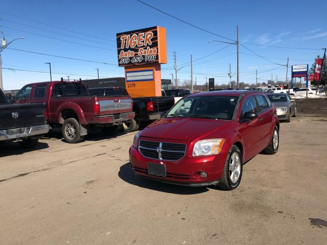 2007 Dodge Caliber SXT*ONLY 123KMS*AUTO*ALLOYS*RUSN WELL*AS IS