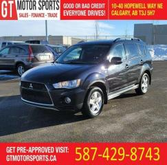 Used 2013 Mitsubishi Outlander XLS | $0 DOWN EVERYONE APPROVED! for sale in Calgary, AB