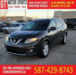 Used 2015 Nissan Rogue SV | AWD | 7 PASS | TECH | $0 EVERYONE APPROVED! for sale in Calgary, AB