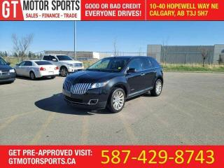 Used 2012 Lincoln MKX SALE PRICE | AWD | $0 DOWN - EVERYONE APPROVED! for sale in Calgary, AB