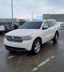 Used 2012 Dodge Durango Citadel | 4WD | $0 DOWN - EVERYONE APPROVED! for sale in Calgary, AB