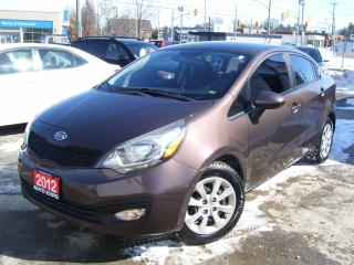 Used 2012 Kia Rio ONE OWNER,AUTO,A/C,BLUETOOTH,CERTIFIED,FOG LIGHTS, for sale in Kitchener, ON