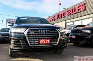 Used 2017 Audi Q7 3.0T Technik|LEATHER|NAV|ACCIDENT FREE|FULLY LOADE for sale in Brampton, ON