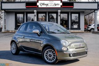 Used 2013 Fiat 500 Lounge for sale in Ancaster, ON