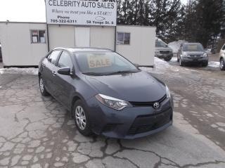 Used 2015 Toyota Corolla L for sale in Elmvale, ON