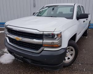 Used 2016 Chevrolet Silverado 1500 WT Double Cab for sale in Kitchener, ON